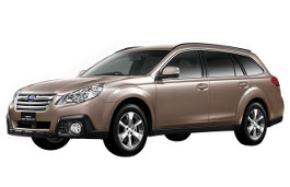 Subaru Legacy Outback BR Facelift Estate