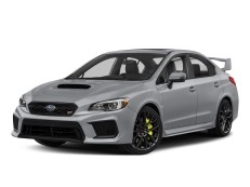 Subaru WRX STI wheels and tires specs icon