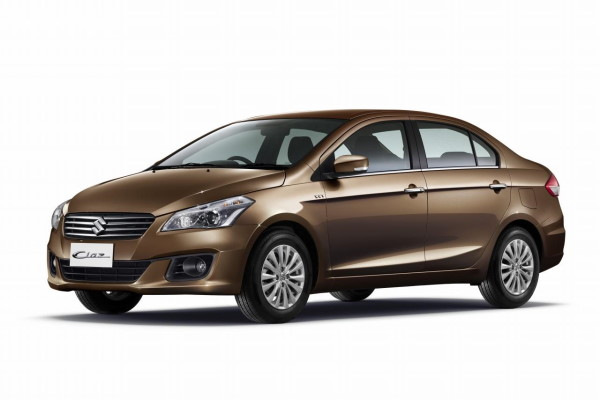 Suzuki Ciaz wheels and tires specs icon