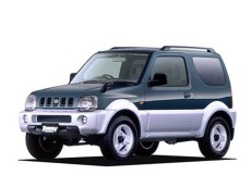 Suzuki Jimny Wide JB43 Closed Off-Road Vehicle