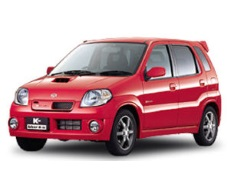 Suzuki Kei Works wheels and tires specs icon
