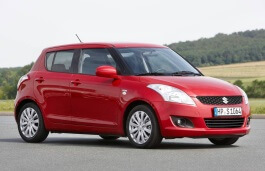 Maruti Swift wheels and tires specs icon