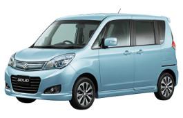 Suzuki Solio II Facelift MPV