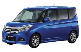 Suzuki Solio III MPV