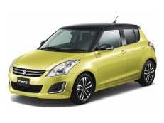 Suzuki Swift Räder- und Reifenspezifikationensymbol