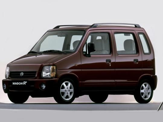 铃木 Wagon R+ 輪轂和輪胎參數icon