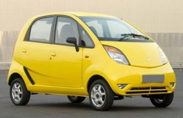 opony do Tata Nano I [2008 .. 2015] Hatchback