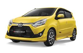 Toyota Agya Restyling Hatchback