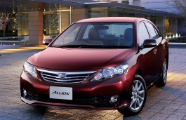 Toyota Allion wheels and tires specs icon