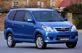 Toyota Avanza wheels and tires specs icon
