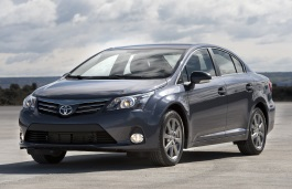Toyota Avensis wheels and tires specs icon