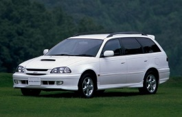 Toyota Caldina wheels and tires specs icon