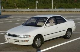 Toyota Carina wheels and tires specs icon
