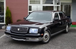 Toyota Century wheels and tires specs icon