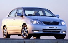 Toyota Corolla IX (E120, E130) Saloon