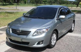 Saloon. Toyota Corolla Altis