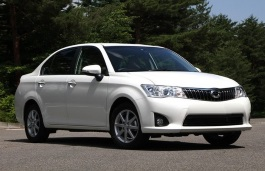 Toyota Corolla Axio wheels and tires specs icon