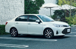 Toyota Corolla Axio Specs Of Wheel Sizes Tires Pcd Offset And