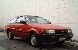 Toyota Corolla Levin - Specs of wheel sizes, tires, PCD, Offset and