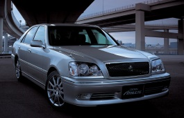 Toyota Crown Athlete wheels and tires specs icon