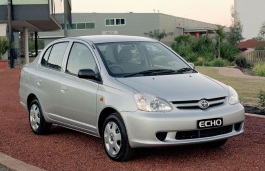 Toyota Echo Facelift Saloon