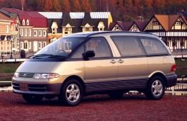 Toyota Estima Emina Räder- und Reifenspezifikationensymbol