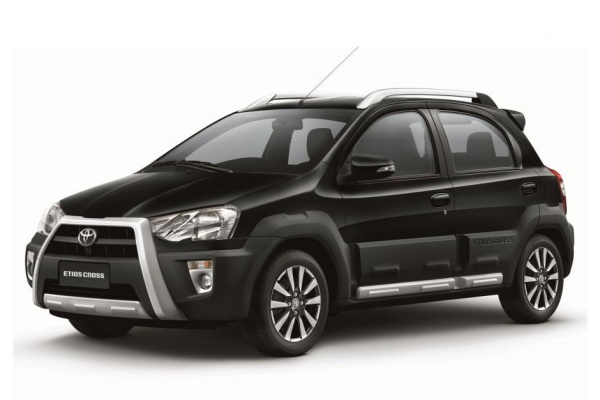 Toyota Etios Cross wheels and tires specs icon