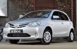 Toyota Etios Liva Räder- und Reifenspezifikationensymbol