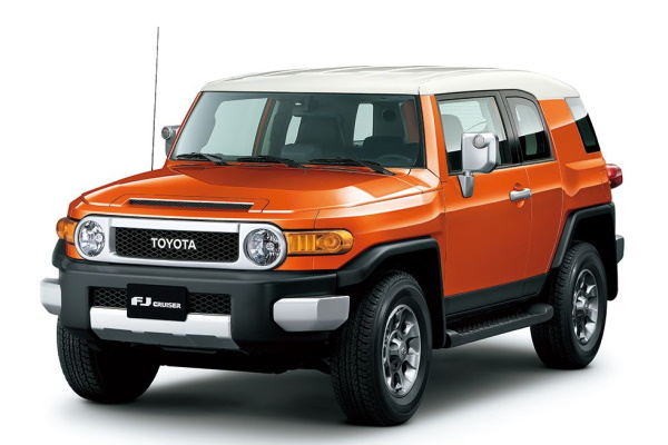 Toyota FJ Cruiser wheels and tires specs icon