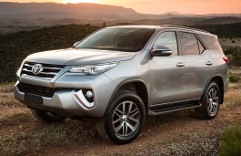 Toyota Fortuner wheels and tires specs icon