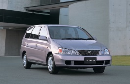 Toyota Gaia wheels and tires specs icon
