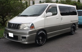 Toyota Grand Hiace wheels and tires specs icon