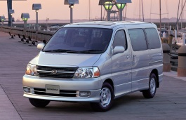 Toyota Granvia wheels and tires specs icon