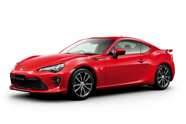 丰田 GT 86 Facelift (ZN6) Coupe