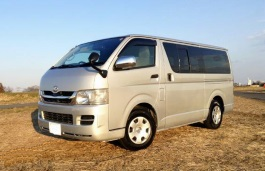 Toyota Hiace - Specs of wheel sizes, tires, PCD, Offset and