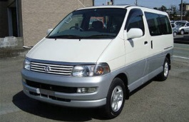 Toyota Hiace Regius wheels and tires specs icon