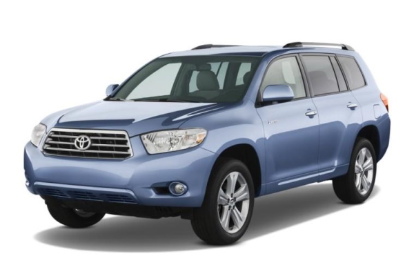 Toyota Highlander wheels and tires specs icon