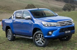 Toyota Hilux Revo wheels and tires specs icon