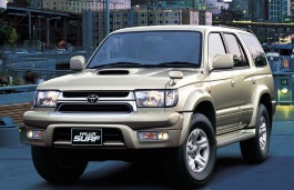 Toyota Hilux Surf wheels and tires specs icon