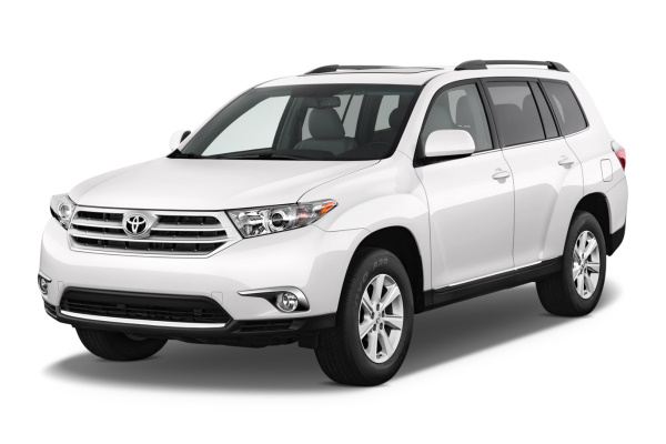 Toyota Kluger II (XU40) Facelift SUV