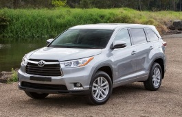 Toyota Kluger wheels and tires specs icon