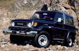 Toyota Land Cruiser 70 Series Closed Off-Road Vehicle