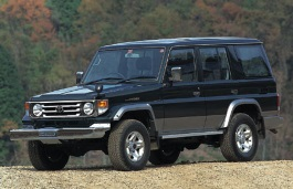 トヨタ ランドクルーザー 70 Series Closed Off-Road Vehicle