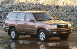 Toyota Land Cruiser 100 Series Closed Off-Road Vehicle