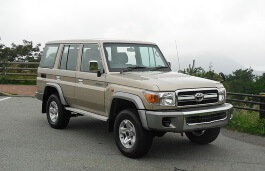 トヨタ ランドクルーザー 70 Series Restyling Closed Off-Road Vehicle