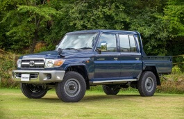 Toyota Land Cruiser 70 Series Restyling Chassis cab