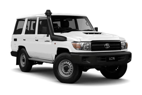 Toyota Land Cruiser 70 Series Restyling Closed Off-Road Vehicle