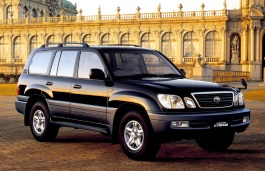 Toyota Land Cruiser Cygnus Closed Off-Road Vehicle