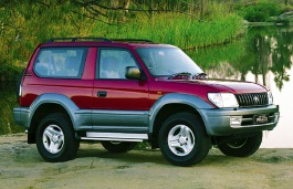 Toyota Land Cruiser Prado 90 Series Closed Off-Road Vehicle