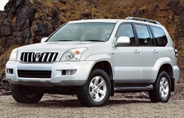 Toyota Land Cruiser Prado 120 Series Closed Off-Road Vehicle